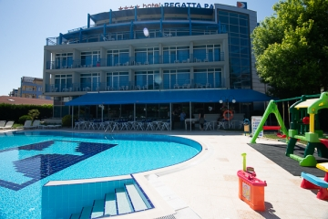 Pool bar Hotel Regatta Palace